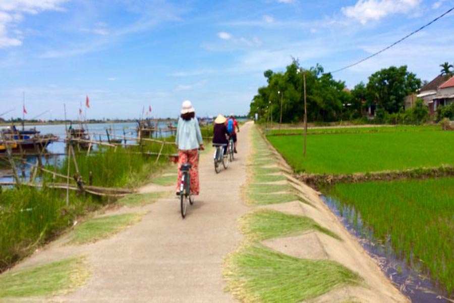 hoi an biking tour