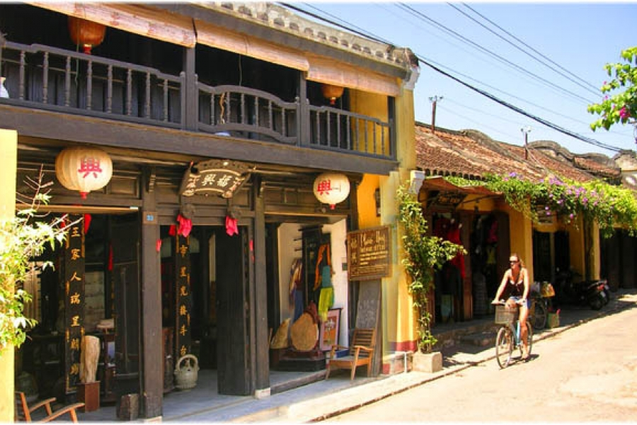 hoi an day trip from chan may port